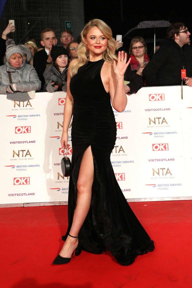 Emily Atack - 2019 National Television Awards in London
