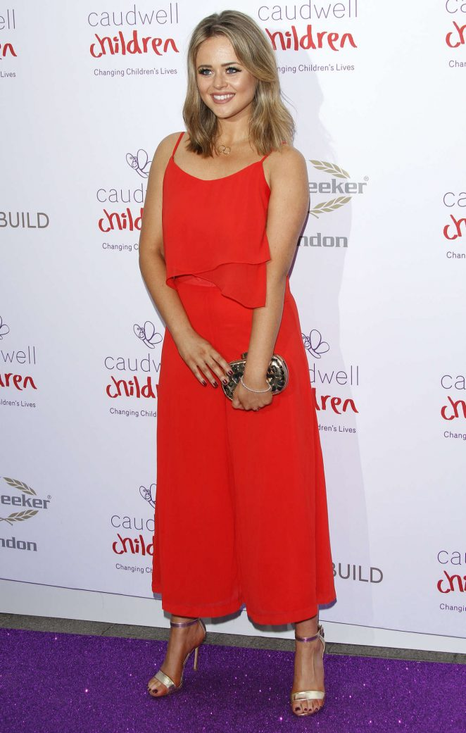 Emily Atack - Caudwell Children Butterfly Ball 2016 in London