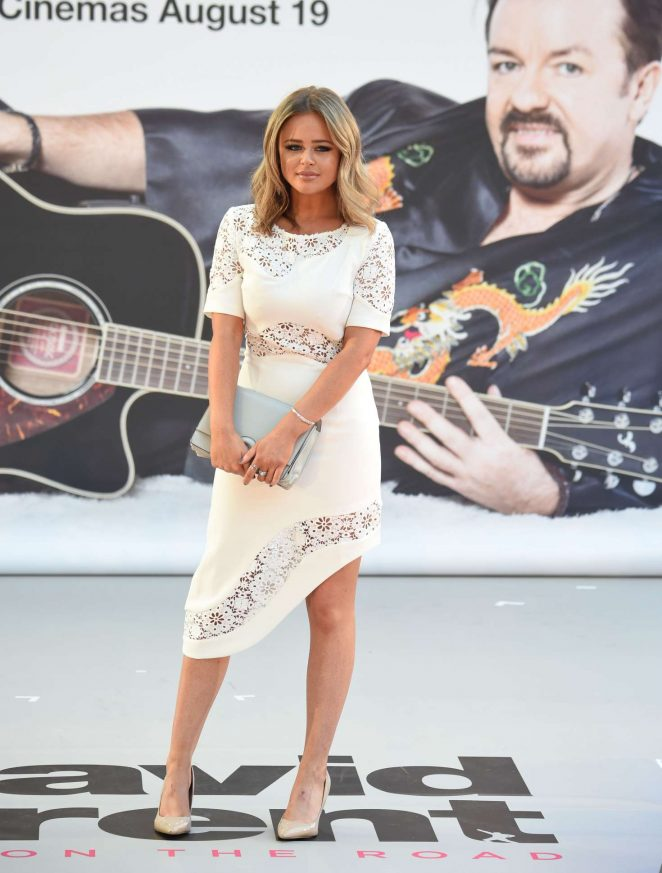 Emily Atack - 'David Brent Movie: Life on the Road' Premiere in London