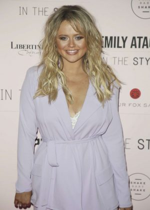 Emily Atack - Emily Atack x In The Style Clothing Launch in London