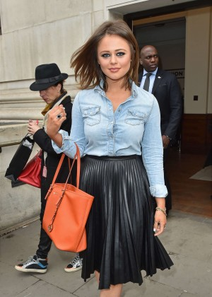 Emily Atack - Marko Mitanovski Fashion Show 2015 in London