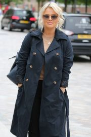 Emily Atack - Outside ITV Studios in London