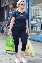 Emily Atack - Shopping in London