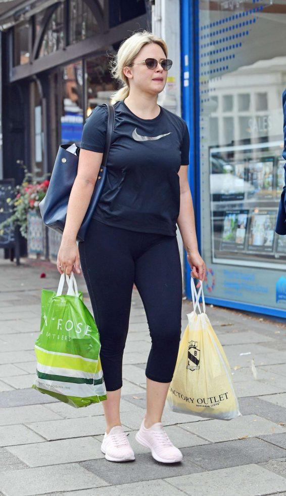 Emily Atack - Shopping in London