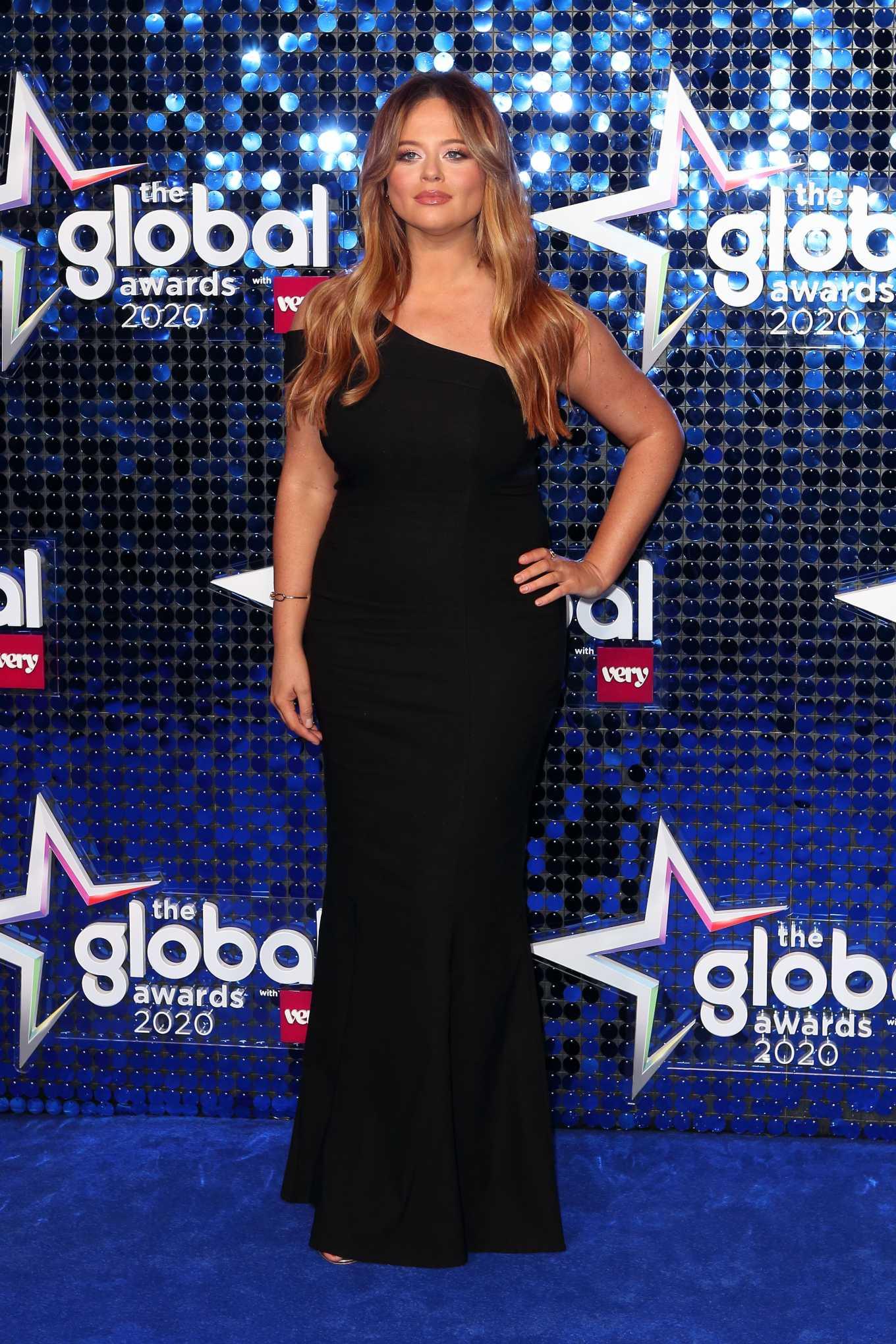 Emily Atack - The Global Awards 2020 in London