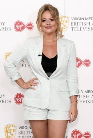Emily Atack - Virgin Media BAFTA 2020 in London