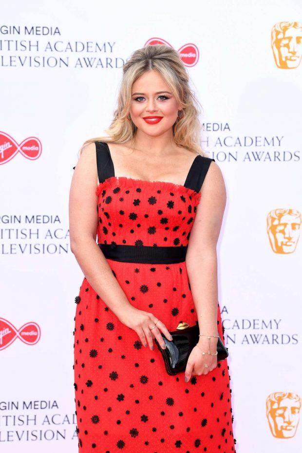 Emily Atack - BAFTA Television Awards 2019 in London