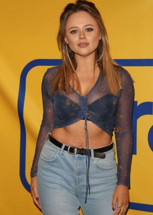 Emily Atack - Wrangler Revival Party in London