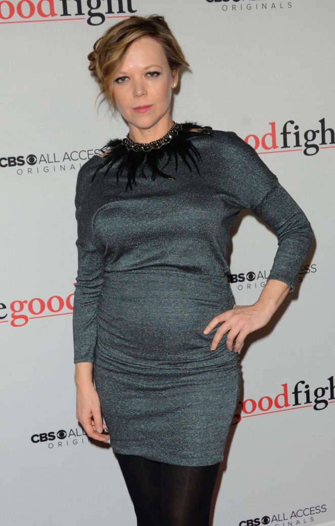 Emily Bergl - 'The Good Fight' Premiere in New York City