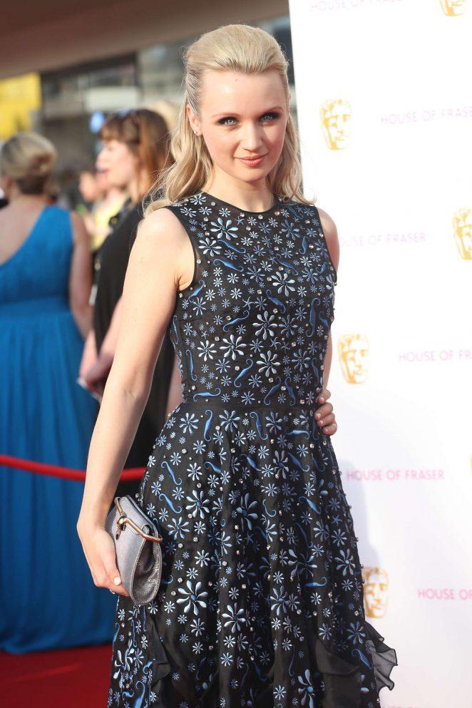 Emily Berrington - BAFTA TV Awards 2016 in London