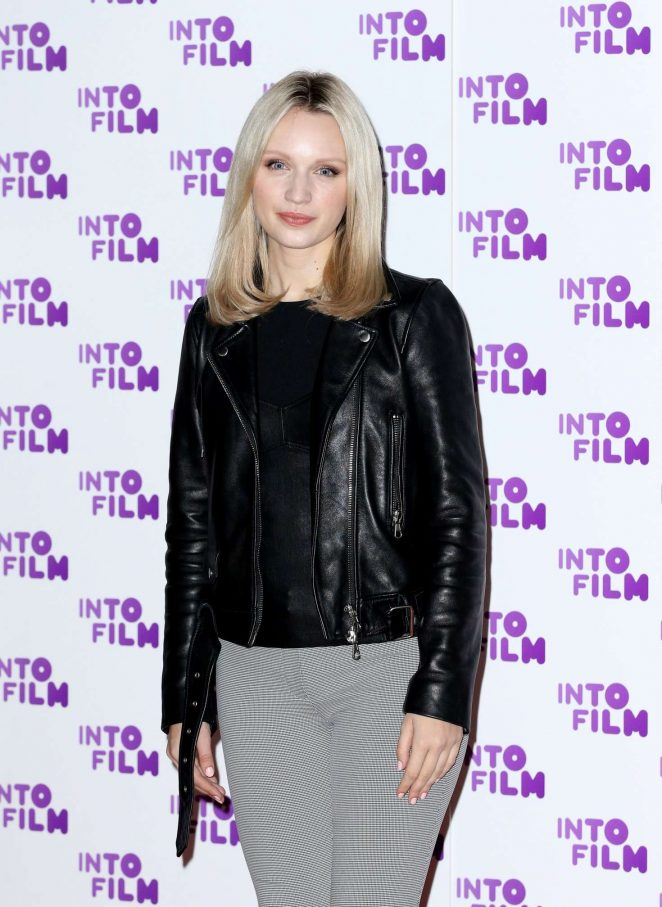 Emily Berrington - Into Film Awards 2018 in London