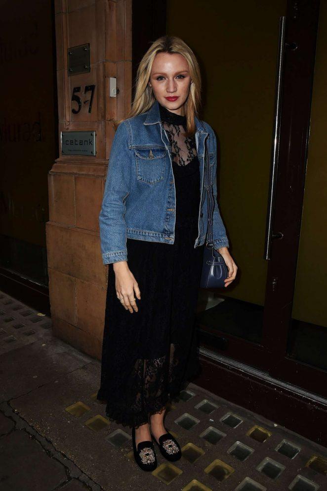 Emily Berrington - Murad Skincare Launch Party in London