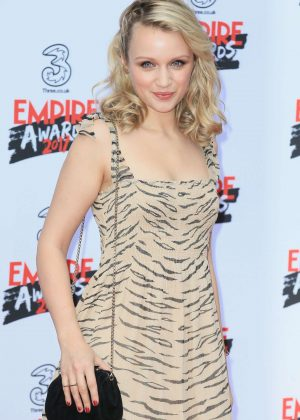 Emily Berrington - Three Empire Awards 2017 in London