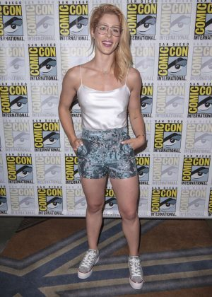 Emily Bett Rickards - 2018 Comic-Con Day 3 in San Diego