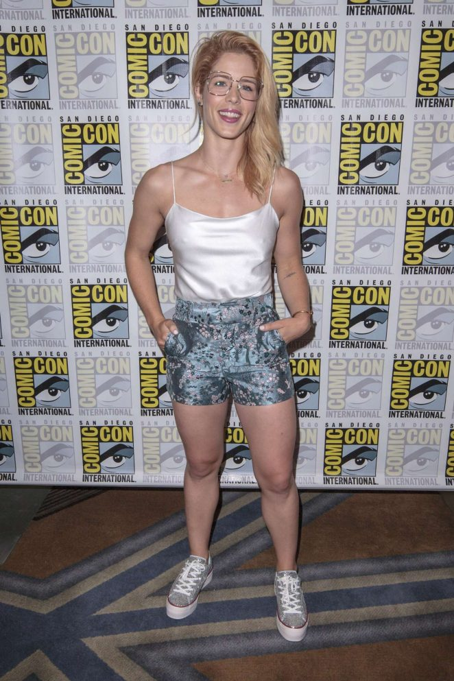 Emily Bett Rickards - 2018 Comic-Con Day 3 in San Diego