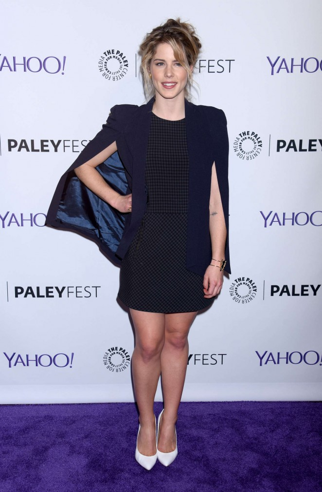 "Emily Bett Rickards - 2015 PaleyFest ""Arrow"" & ""The Flash"" Event in Hollywood"
