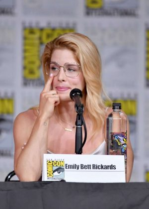 Emily Bett Rickards - 'Arrow' Panel at 2018 Comic-Con in San Diego