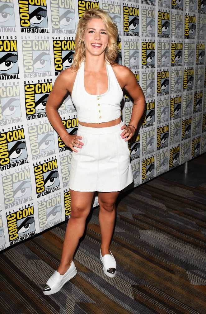 Emily Bett Rickards - 'Arrow' Presentation at 2017 Comic-Con in San Diego