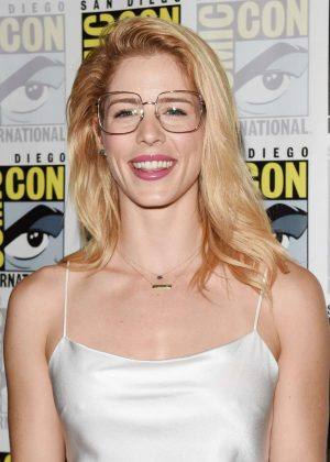 Emily Bett Rickards - 'Arrow' Press Call at 2018 Comic-Con in San Diego
