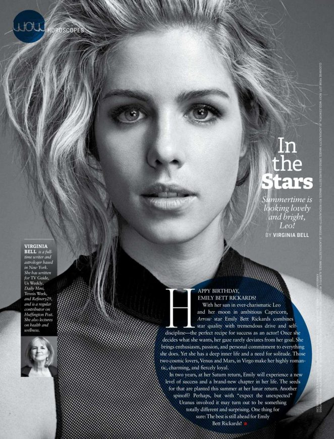 Emily Bett Rickards for Watch! Magazine (August 2018)