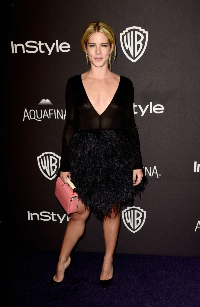 Emily Bett Rickards: InStyle and Warner Bros 2016 Golden Globe Awards Post-Party -02