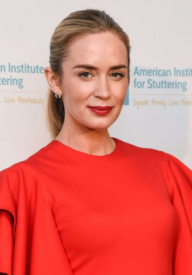 Emily Blunt - 11th Annual Freeing Voices Changing Lives Benefit Gala in NY