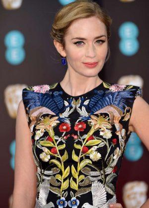Emily Blunt - 2017 British Academy Film Awards in London