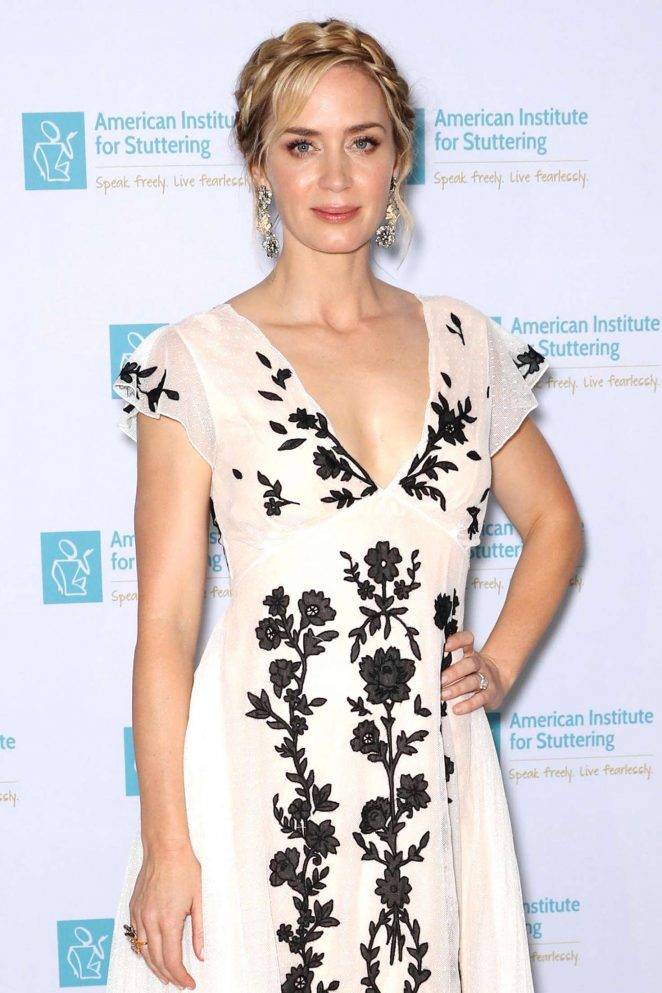 Emily Blunt - 2018 AIS Freeing Voices Changing Lives Gala in New York