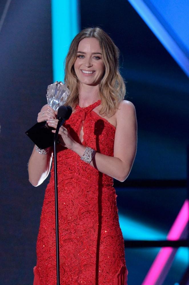 Emily Blunt – 20th Annual Critics Choice Movie Awards in LA