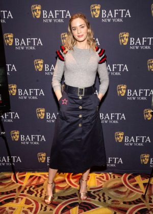 Emily Blunt - 'A Quiet Place' BAFTA Screening in New York