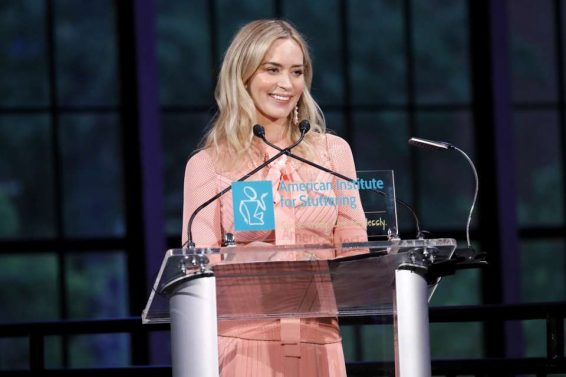 Emily Blunt 2019 : Emily Blunt – American Institute For Stuttering 13th Annual Gala-07
