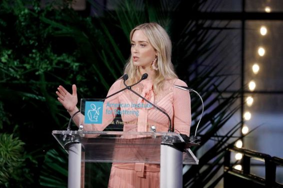 Emily Blunt 2019 : Emily Blunt – American Institute For Stuttering 13th Annual Gala-10