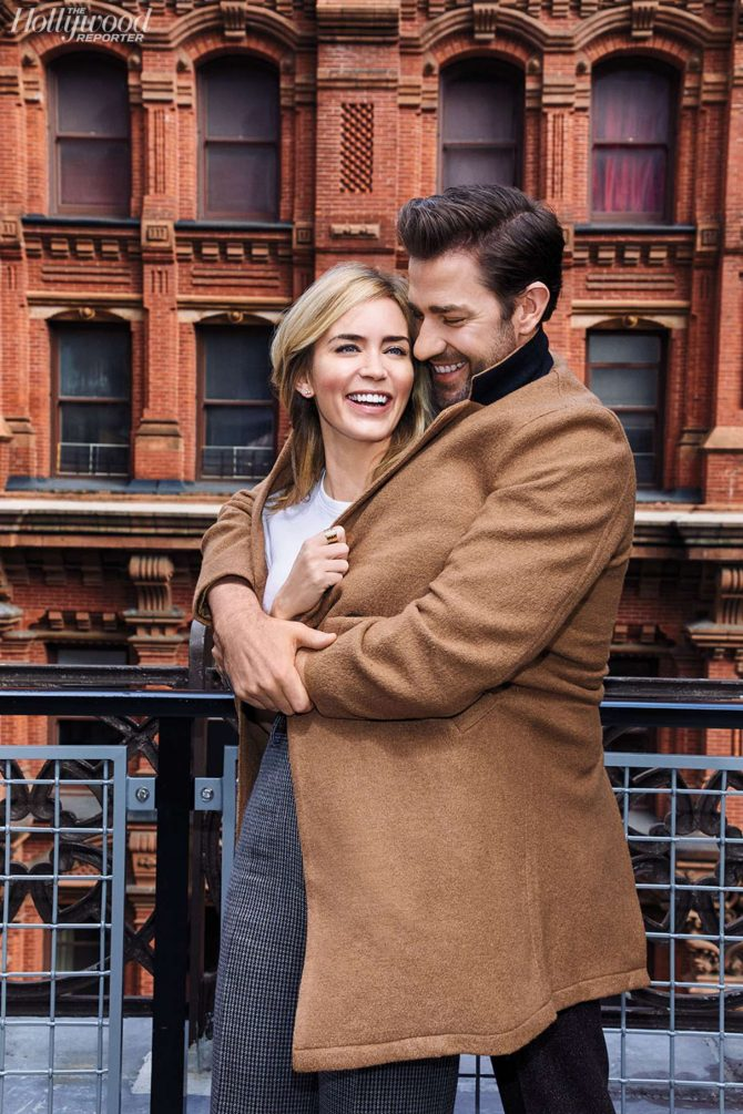 Emily Blunt and John Krasinski – The Hollywood Reporter (December 2018)