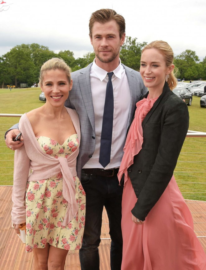 Emily Blunt: Audi Polo Challenge Day -08