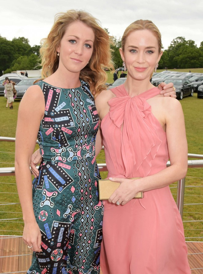Emily Blunt: Audi Polo Challenge Day -23