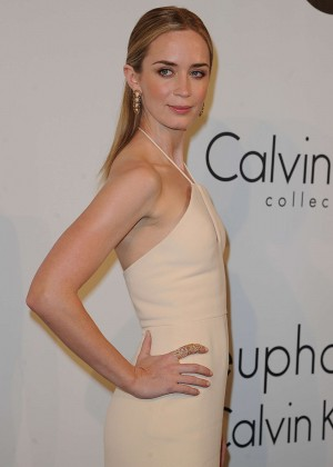 Emily Blunt - Calvin Klein Party 2015 in Cannes
