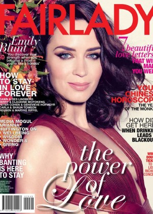 Emily Blunt - Fairlady Magazine (February 2016)