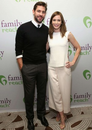 Emily Blunt - Family Reach's Cooking Live from New York in New York