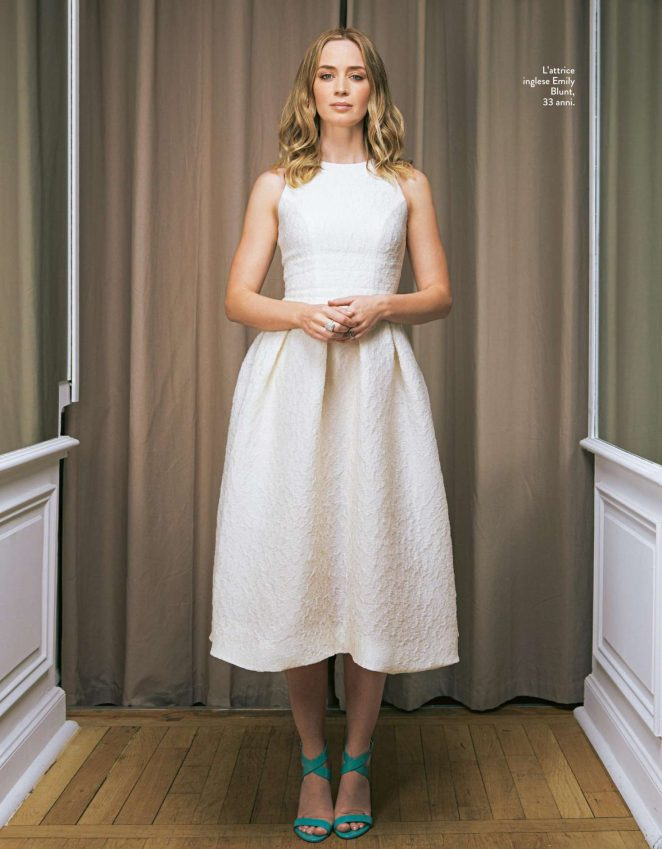 Emily Blunt - Grazia Italy Magazine (November 2016)