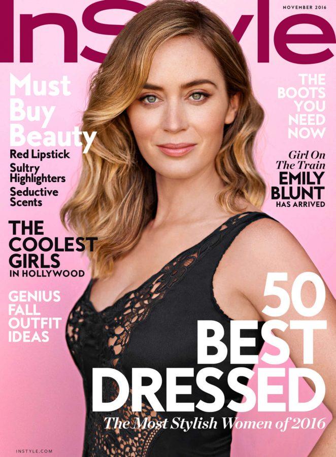 Emily Blunt - InStyle Magazine (November 2016)