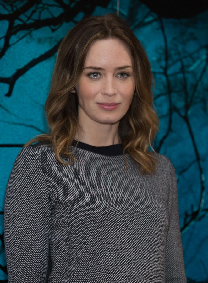 Emily Blunt: Into The Wood Photocall -04