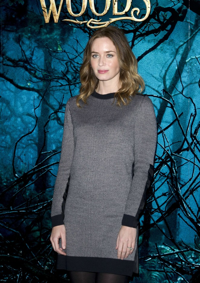 Emily Blunt: Into The Wood Photocall -09