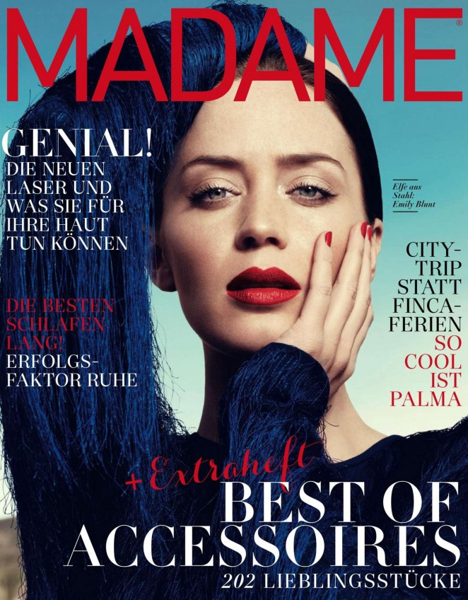 Emily Blunt - Madame Germany Magazine (March 2015)