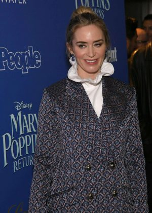 Emily Blunt - 'Mary Poppins Returns' Screening in New York