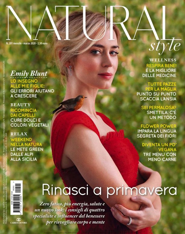 Emily Blunt - Natural Style Magazine (March 2020)