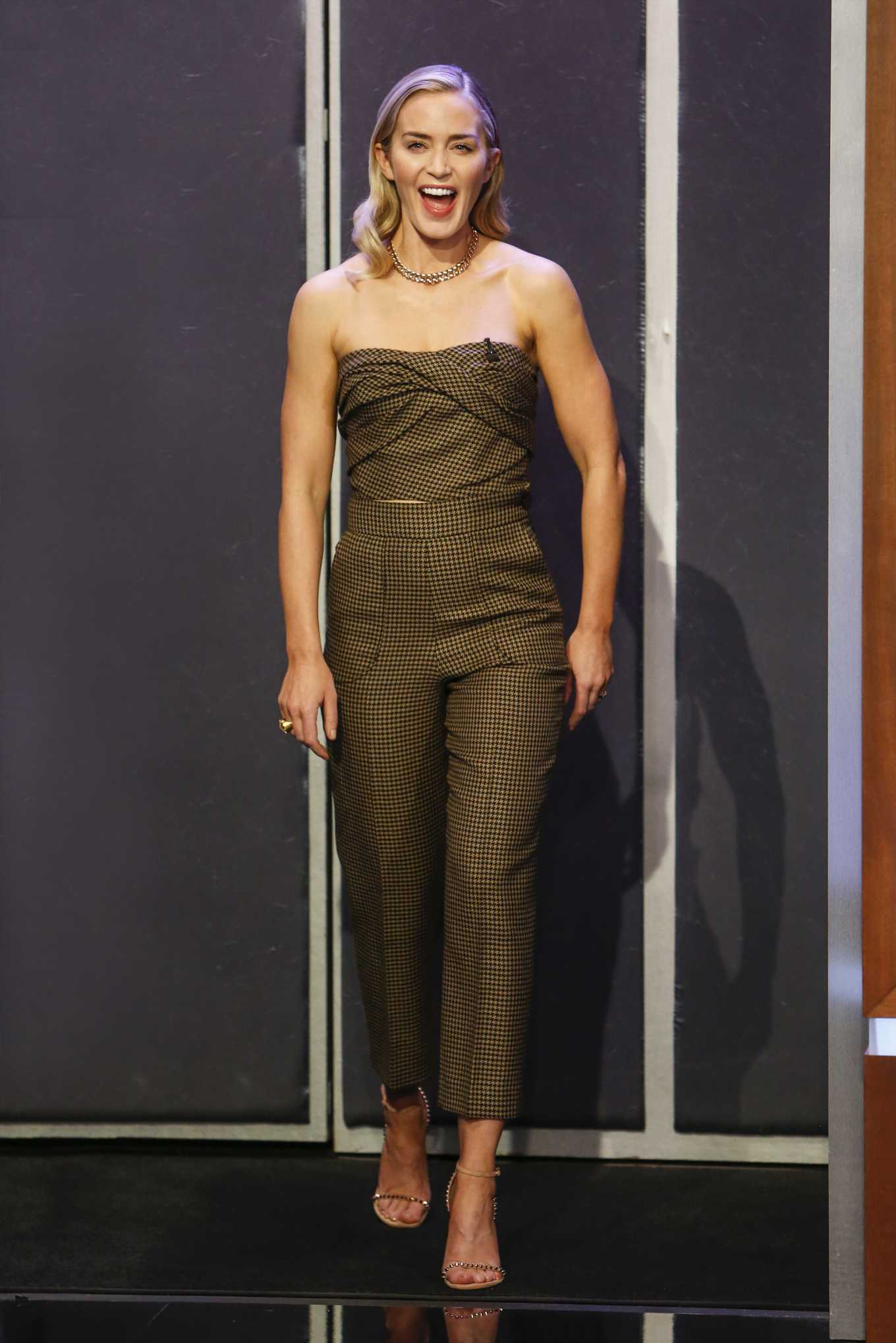 Emily Blunt - On Jimmy Kimmel Live in Los Angeles
