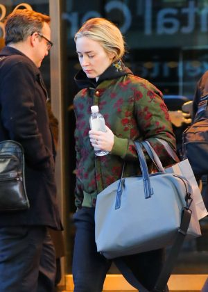 Emily Blunt - Out in New York