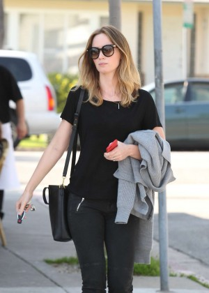 Emily Blunt in Jeans Out in West Hollywood