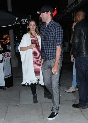 Emily Blunt out in West Hollywood