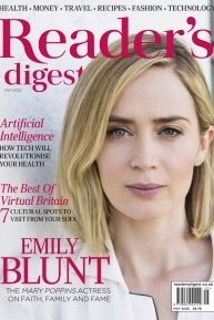 Emily Blunt - Reader's Digest Magazine (UK - May 2020 issue)